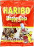 Haribo Gummi Candy, Happy Cola, 5-Ounce Bags (Pack of 12)
