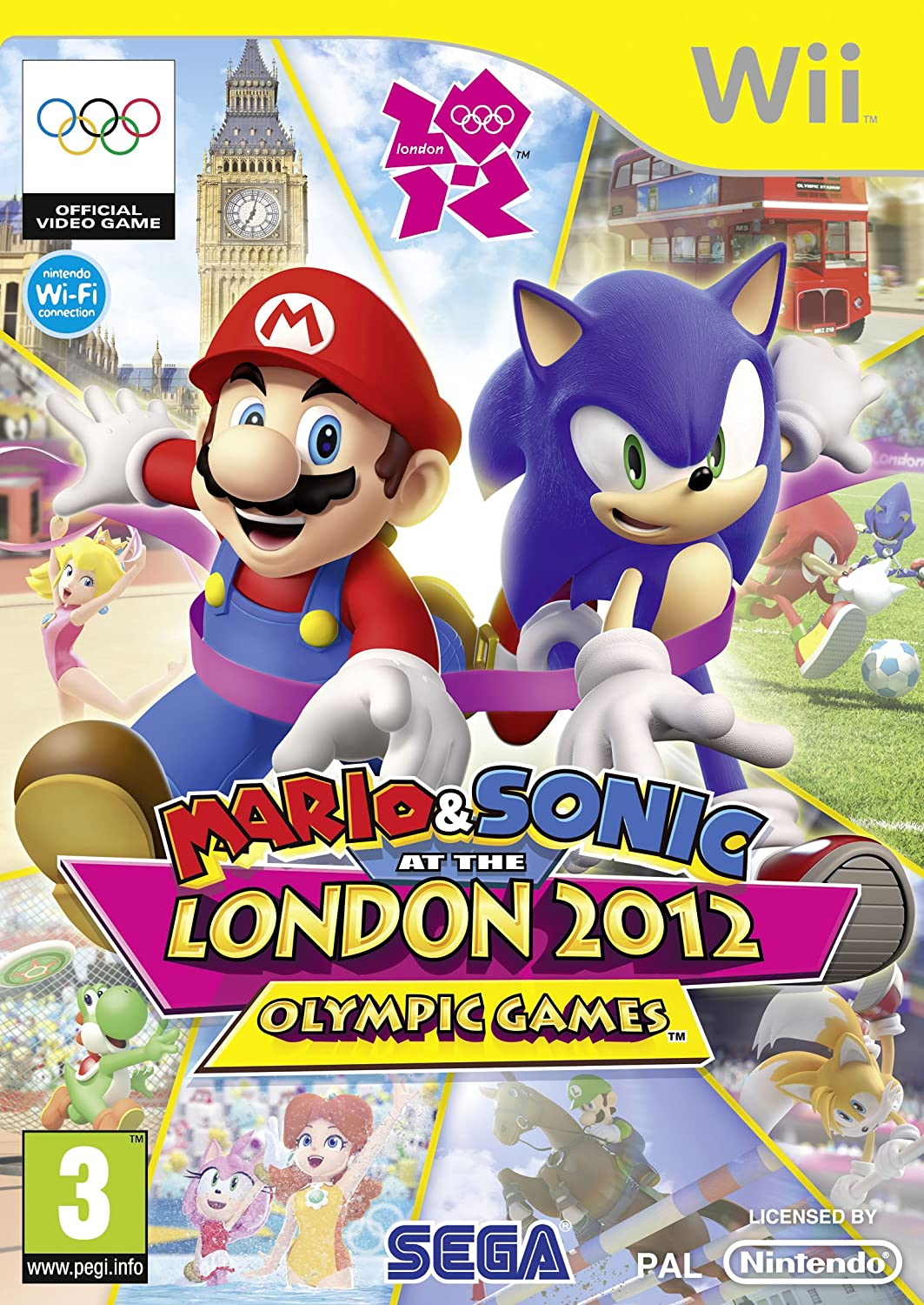 0a49c5398 Mario   Sonic at the London 2012 Olympic Games (Nintendo Wii)   Amazon.co.uk  PC   Video Games