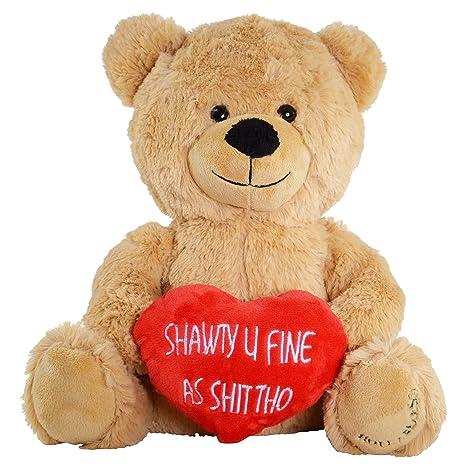 Amazoncom Hollabears Shawty U Fine As Shit Tho Teddy Bear Funny