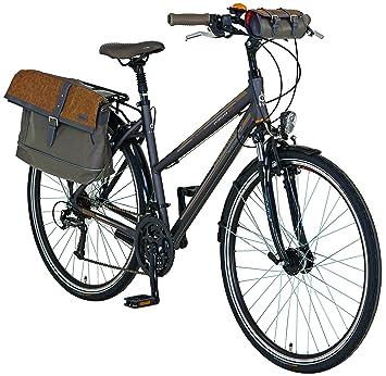 designer fashion f579d af318 Prophete Vélo pour Femme en Aluminium Trekking 28 quotExplorateur 6.01,  Anthracite, M