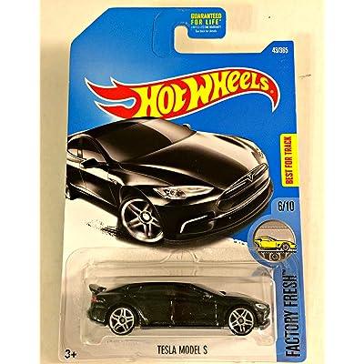 Hot Wheels 2020 Factory Fresh Tesla Model S 43/365, Black: Toys & Games