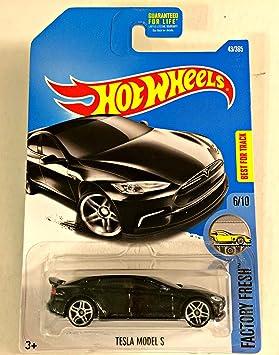 Fresh 2017 Long S Factory 43365Black Hot Card Model Wheels Tesla 8wknPX0O