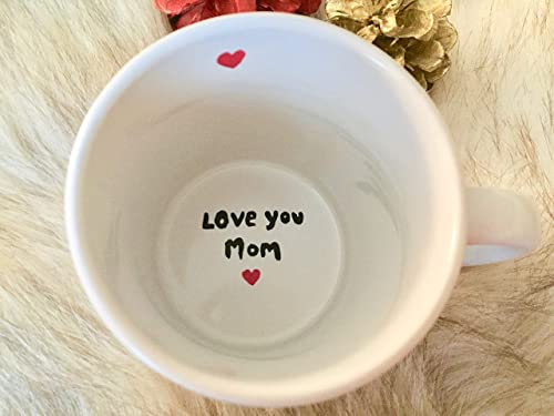 Amazon Com Usa Shop Hidden Message Mug Love You Mom Surprise Mug Love You Mom Gift For Mom Surprise Mug For Mom Mothers Day Gift Mommy I Love You Mom Mom S Birthday Gift