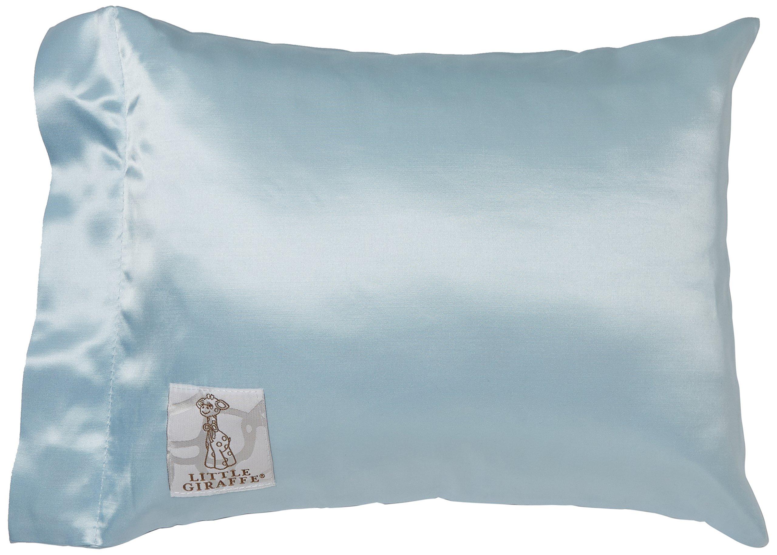 Amazon Com Little Giraffe Satin Nap Pillow Pink Baby