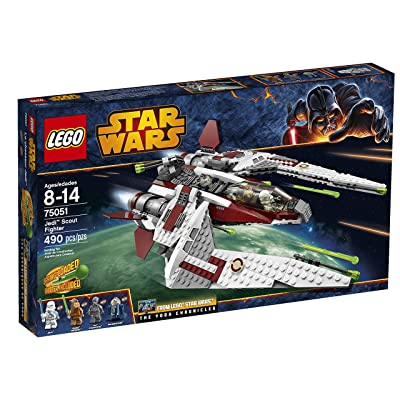 LEGO Star Wars 75051 Jedi Scout Fighter Building Toy (Discontinued by manufacturer): Toys & Games