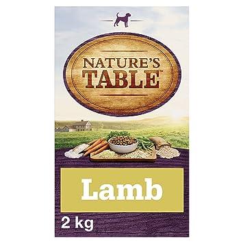 Natures Mesa Perro SECO Completo LAMBILLO para Adulto con arroz y Verduras, 2 kg,