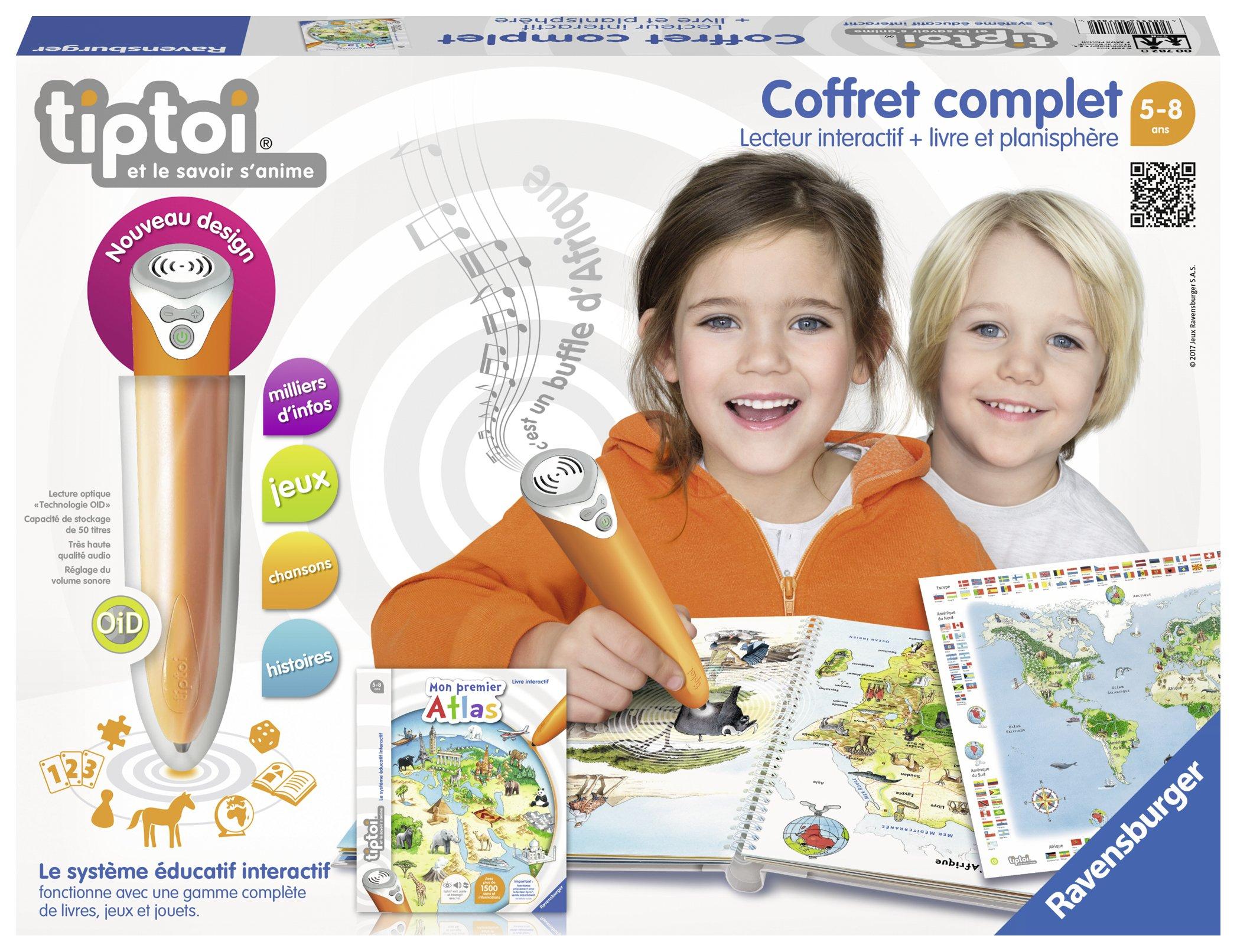 Ravensburger - 00782 - Coffret Complet Lecteur + Livre Atlas Tiptoi product image