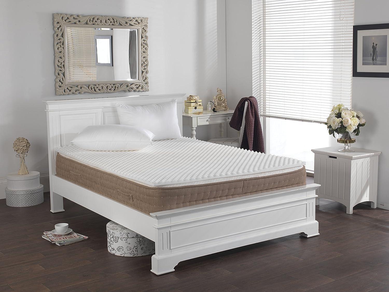 lancashire textiles back support pain relief egg box foam mattress