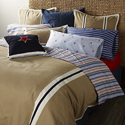 331445597 Amazon.com: Tommy Hilfiger Comforter, All American Classics Collection,  Twin, Ghurka(Old Pattern): Home & Kitchen
