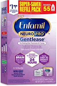 Enfamil, NeuroPro Gentlease Formula, Milk Powder Refill, 31.4 oz