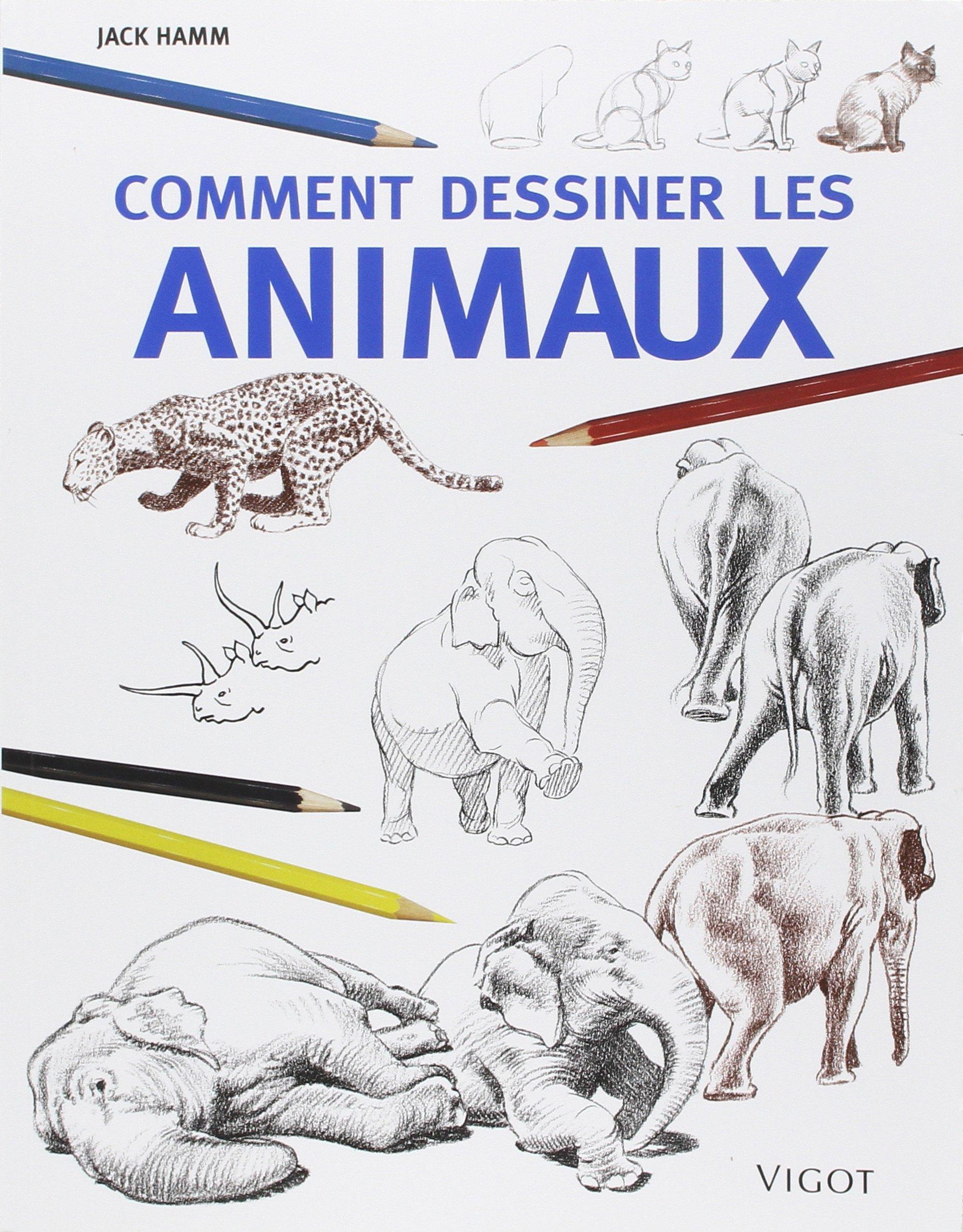 Extrêmement Amazon.fr - Comment dessiner les animaux - Jack Hamm - Livres SJ24
