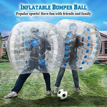 Amazon.com: benefitusa Azul Cuerpo Zorb Ball Bumper pelota ...
