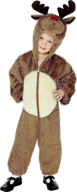 Amazon.com: Smiffys Disfraz de reno niño 3 – 5 años: Clothing