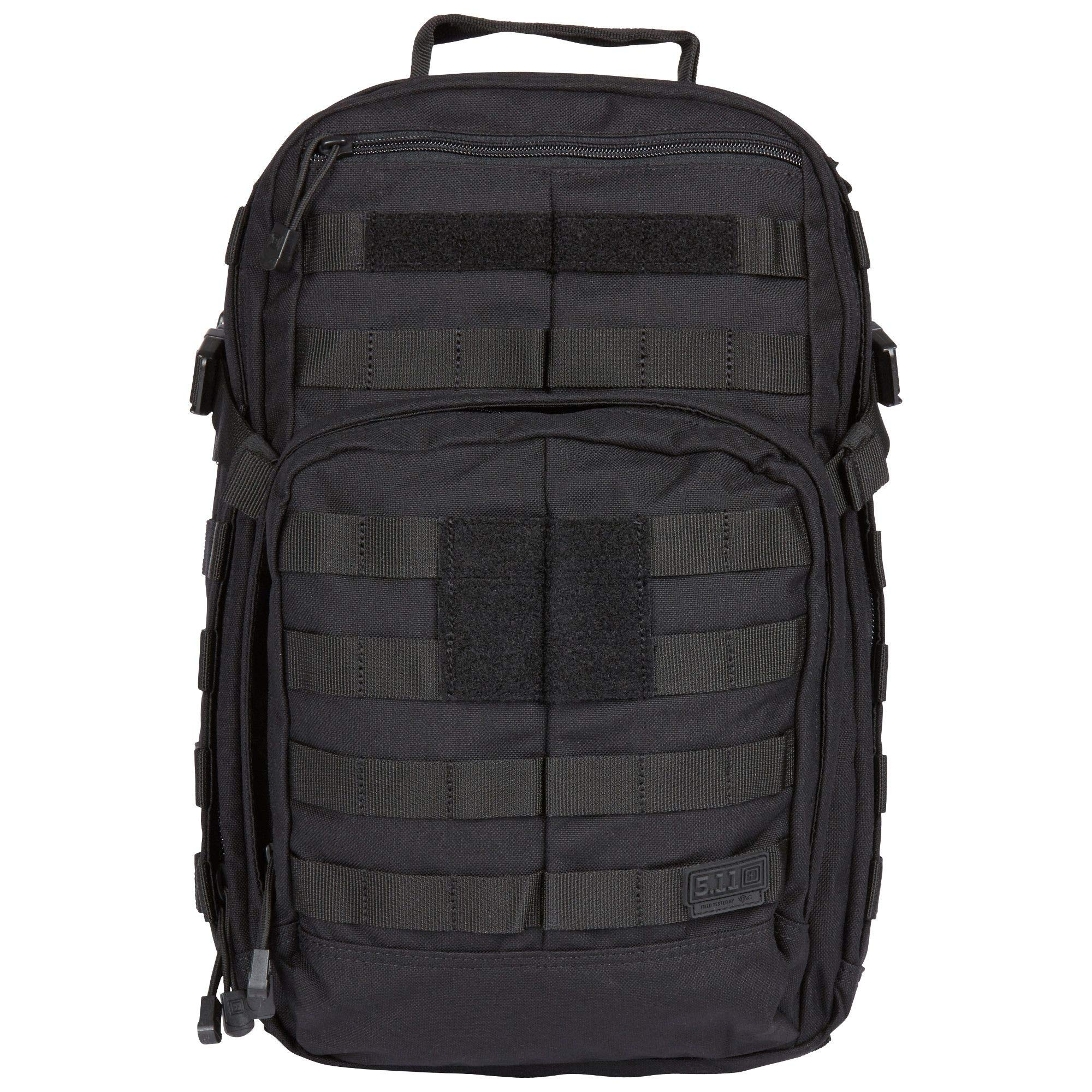 5.11 RUSH12 Tactical Military Assault Molle Backpack, Bug Out Rucksack Bag, Small, Style 56892, Black
