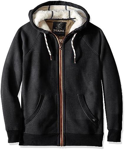 5efd2c618 Amazon.com  prAna Lifestyle Full Zip Lined Hood  Sports   Outdoors
