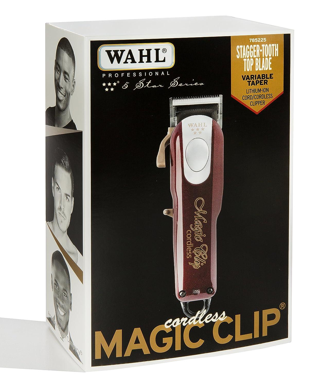 Wahl CORDLESS MAGIC CLIP - Afeitadora  Amazon.es  Hogar cc1bfb3fbd00