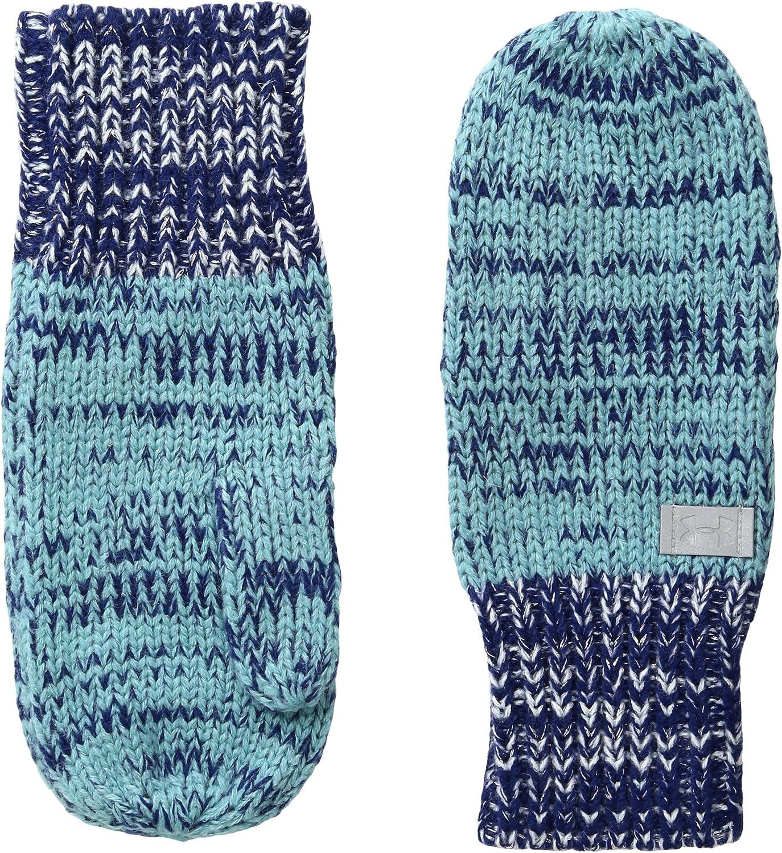 Under Armour Girls Shimmer Knit Mittens