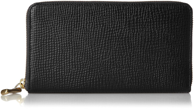 [トフアンドロードストーン] 長財布 ラウンドジップウォレットTM-A021 B06XXS6YZH ブラック ブラック