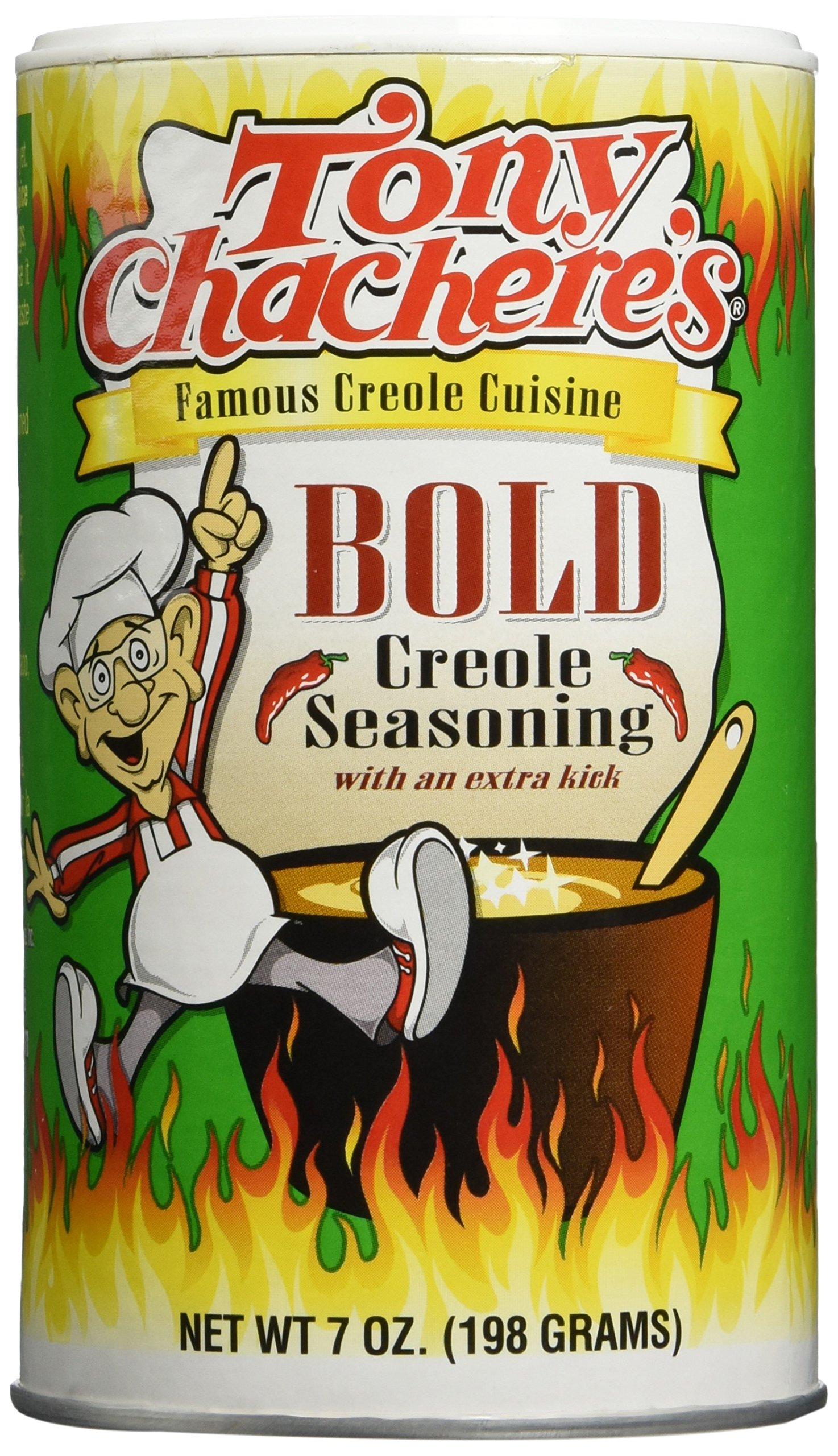 Tony Chachere's Bold Creole Seasoning, 7 Ounce