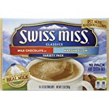 Swiss Miss Milk Chocolate/Marshmallow .73 oz Hot Cocoa Mix Variety Pack, 10 Count