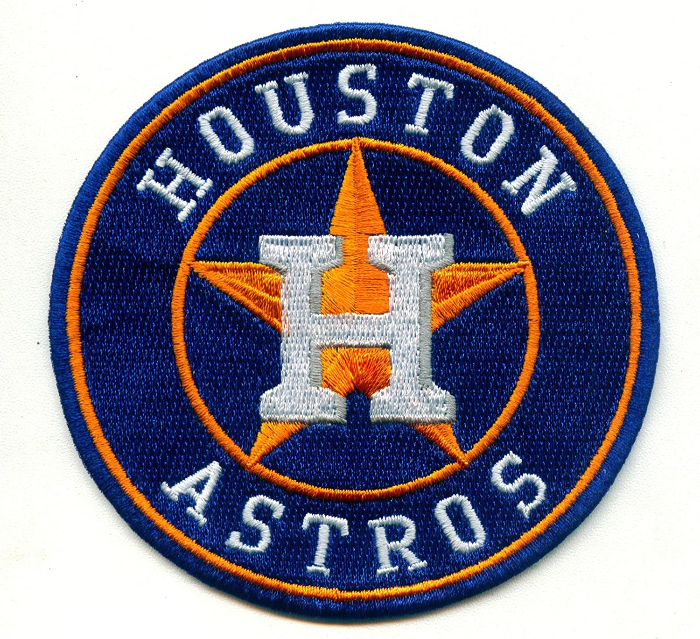 ⚾3.5 NEWHOUSTON Astros Logo Iron-on Baseball Jersey Patch-World Series Champions!