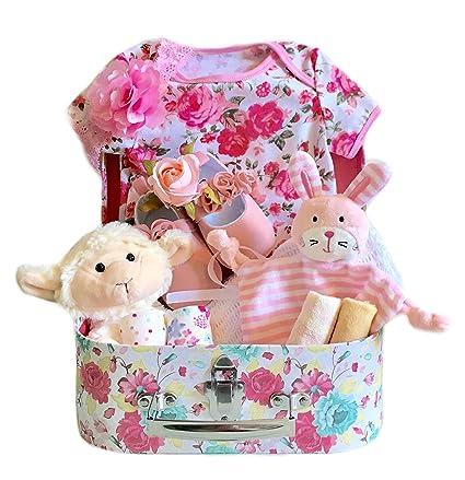 Cesta para bebé recién nacido, regalo para recién nacido, regalo ...