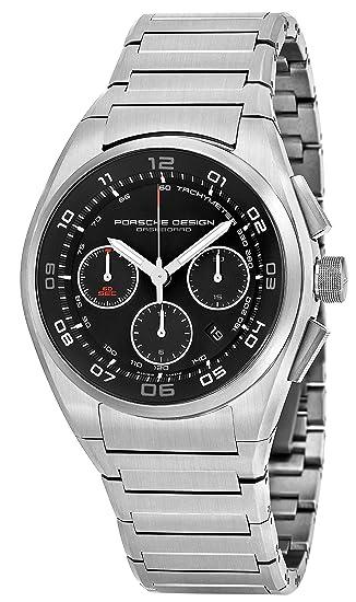 Porsche Design para hombre cronógrafo negro cara FECHA titanio pulsera reloj automático suizo 6620.1146.0268: porsche design: Amazon.es: Relojes