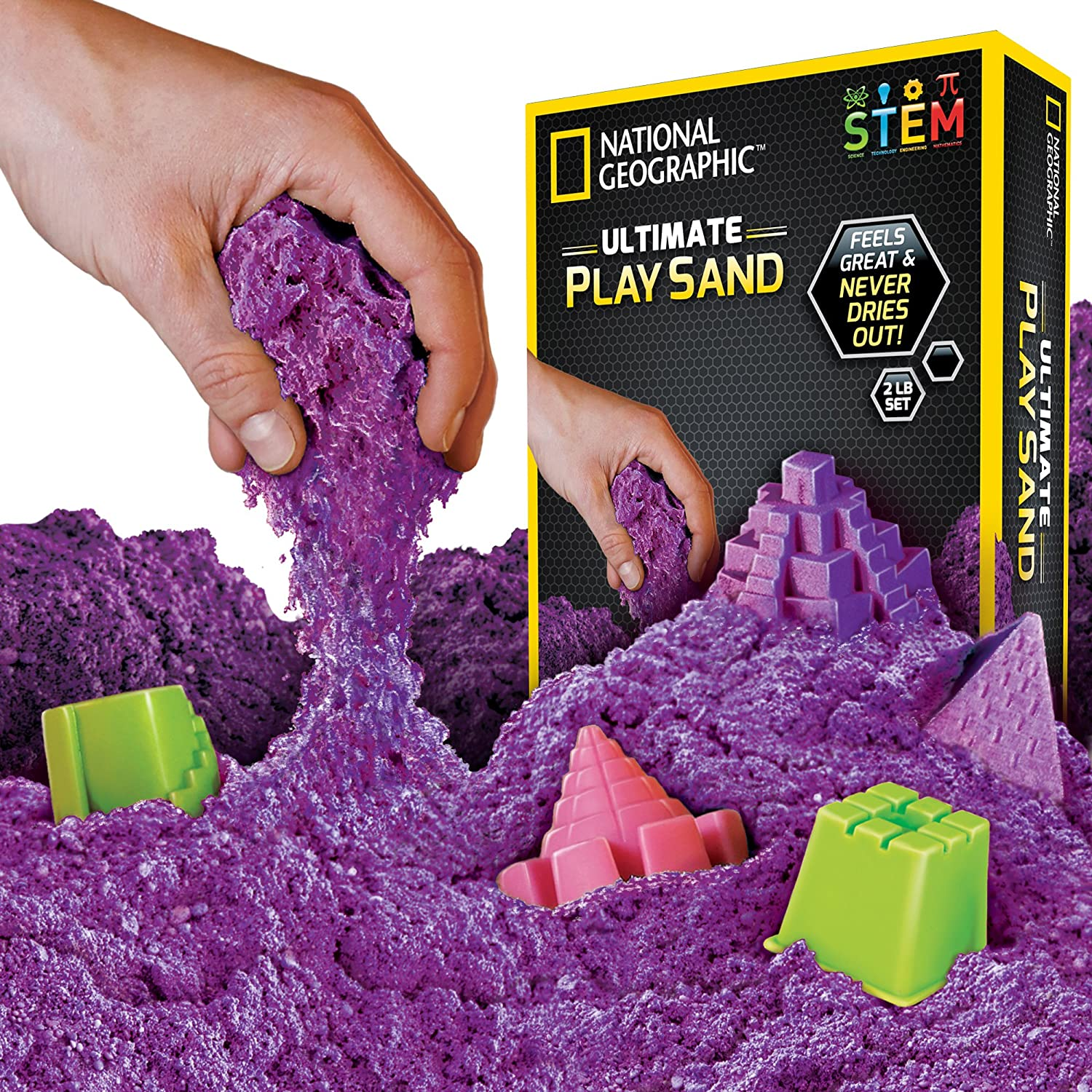 National Geographic Play Sand - A Kinetic Sensory Activity