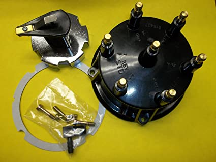 Boise Boat Works Distributor Cap and Rotor Kit for Mercruiser 4.3 Engines with Thunderbolt I and IV ignitions