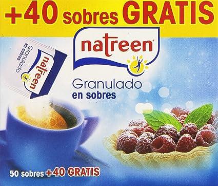 Natreen - Edulcorante granulado, 90 sobres