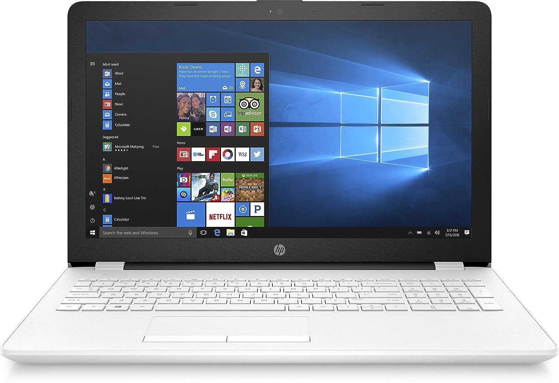 acheter hp 15 bs060nf ordinateur portable 15 pouces blanc avec intel hd graphics 400 windows 10. Black Bedroom Furniture Sets. Home Design Ideas