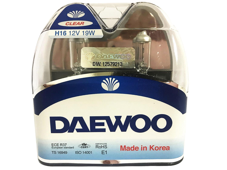 2 pieces 1 set DAEWOO H16 12V 19W Headlight Bulb