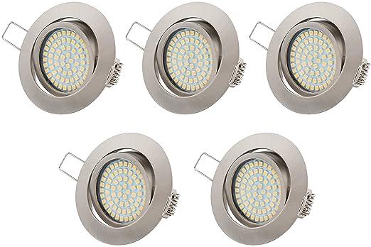 Ultra Flach LED Einbaustrahler Tolles Design Warmweiß 3.5W 230V ...