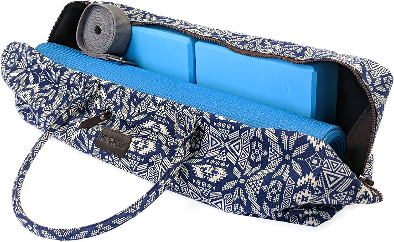 Amazon.com: Kindfolk - Bolsa de lona para esterilla de yoga ...