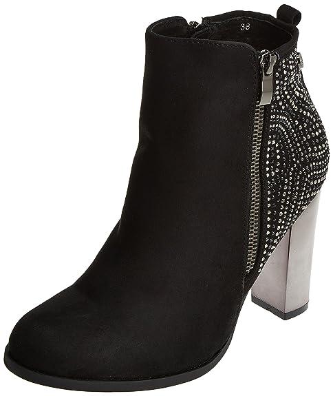 XTI 030506, Botines para Mujer, Negro (Black), 40 EU: Amazon.es: Zapatos y complementos