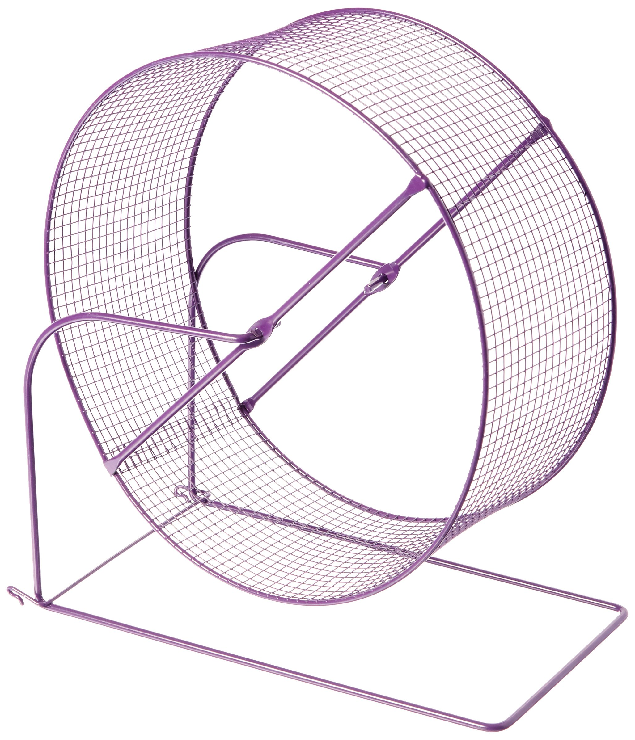 Prevue Pet Products SPV90014 Wire Mesh Ferret/Guinea Pig Wheel Toy, 11-Inch, Colors Vary