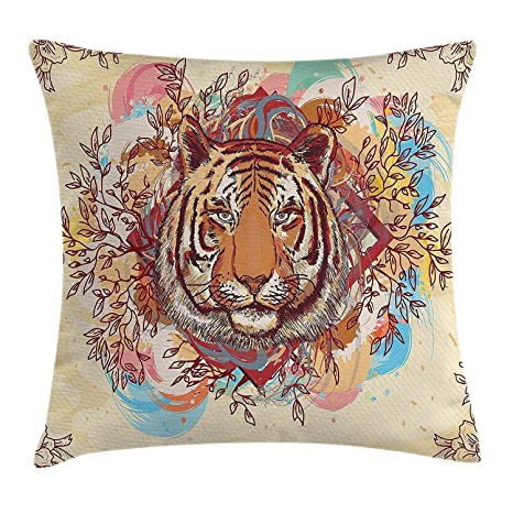 tyui7 Tiger Head Prince of The Forest Brave Big Cat en Marco ...