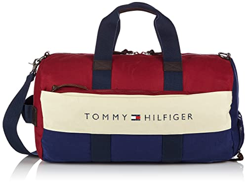 00bb7cb7a725c Tommy Hilfiger Lance Weekender - Bolso de Mano de Lona Hombre