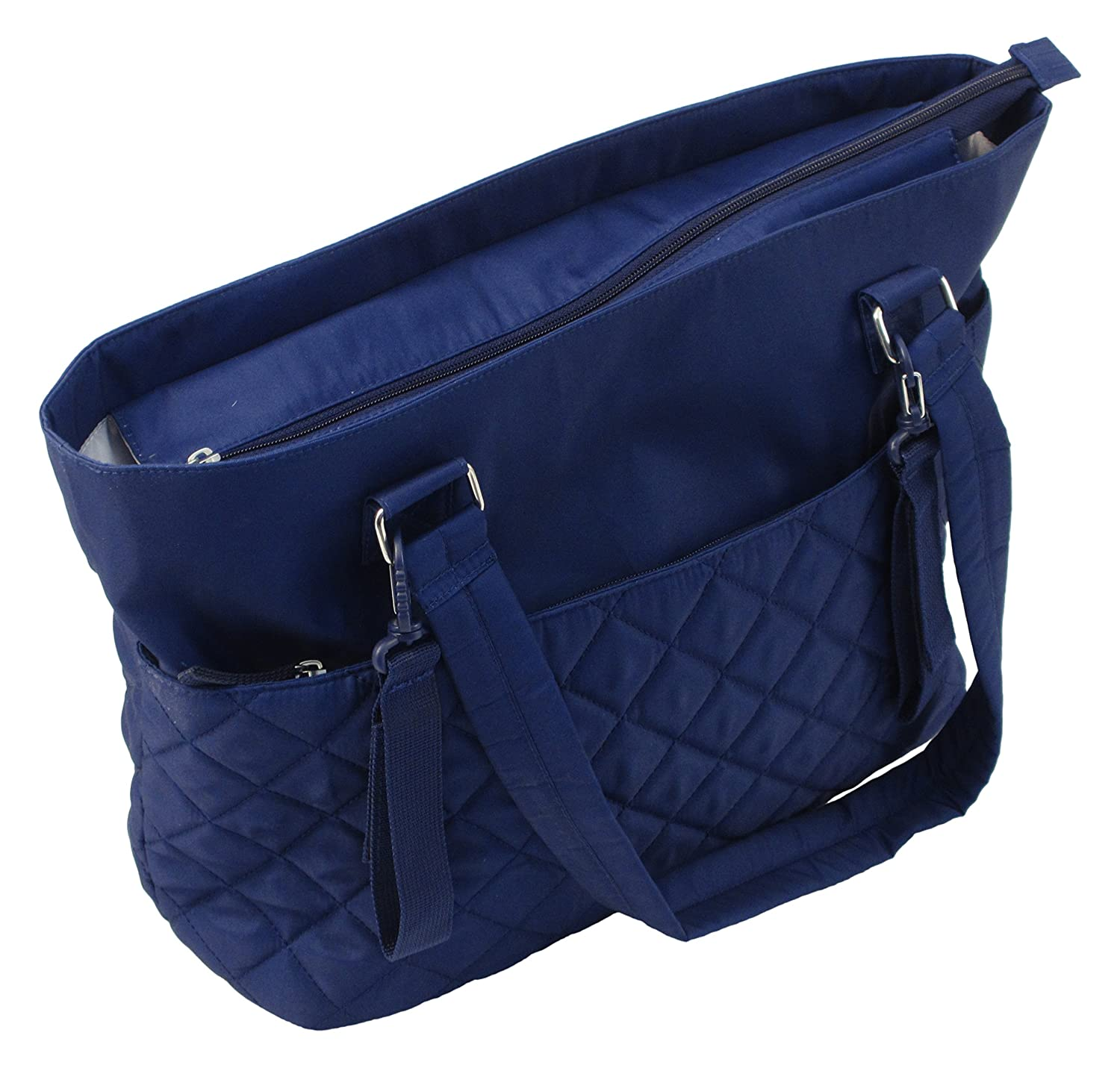 Summer Infant Quilted Tote Changing Bag - Sapphire Blue   B015AVGRO6