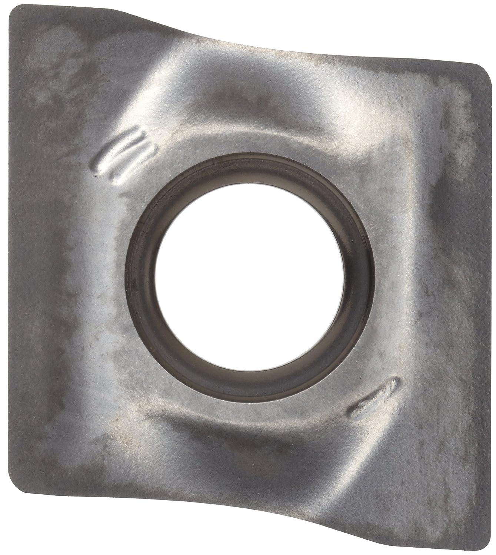 Sandvik Coromant COROMILL Carbide Milling Insert Diamond Pack of 10 0.016 Corner Radius R590 Style H10 Grade Wiper R590110504HNW,0.197 Thick Uncoated