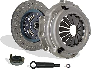 Clutch Kit Compatible With Escape Escort Tribute Tracer Limited XLS XLT DX ZX2 SE LS GS Trio Deportivo Equi Mid Sport 1997-2004 2.0L l4 GAS DOHC Naturally Aspirated