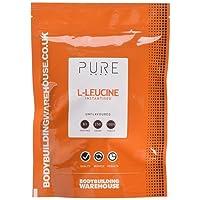 Bodybuilding Warehouse Pure Instantised Leucine Powder Unflavoured 250 g