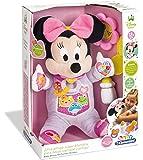 Clementoni Peluche interactiva Minnie Mi Primera Muñeca Color Rosa 36.8 x 28.2 x 16.5 65547