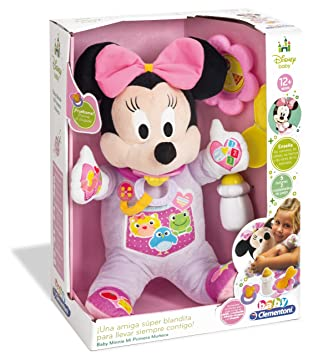Amazon.com: Clementoni Baby Disney My First Snowman Minnie ...