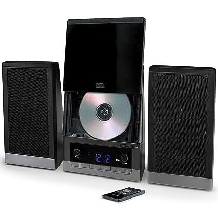 Amazon.com: ONN Audio Compact Home sistema de CD de música ...