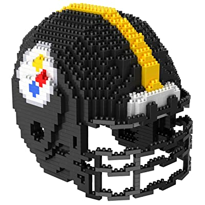 Pittsburgh Steelers NFL 3D BRXLZ Construction Toy Blocks Set - Helmet : Clothing