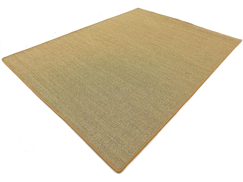 Salsa Design HEVO® Sisal Teppich Honig mit klassischer Kettelkante 200x300 cm