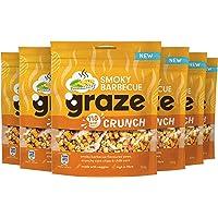 Graze Smokey Barbecue Crunch Peulvruchten & Groenten snack - 6 x 104 gram