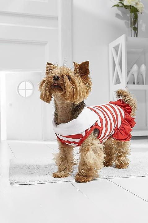 Amazon Com Toy Dog Marine Dress For Yorkie Maltese Chihuahua Pom