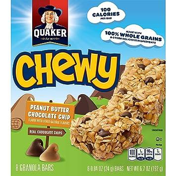 Amazon.com: Quaker Chewy Granola Bars, Peanut Butter ...